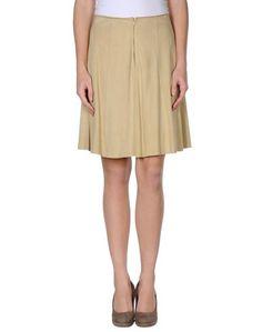 Кожаная юбка Mariella Burani