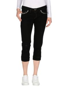 Джинсовые брюки-капри Rossodisera