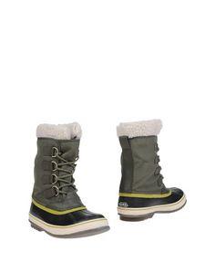 Полусапоги и высокие ботинки Sorel