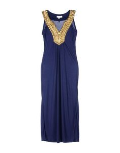 Длинное платье Elizabeth Hurley