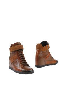 Полусапоги и высокие ботинки Santoni Club