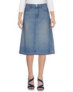 Джинсовая юбка Mother