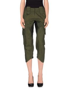 Джинсовые брюки-капри Malloni