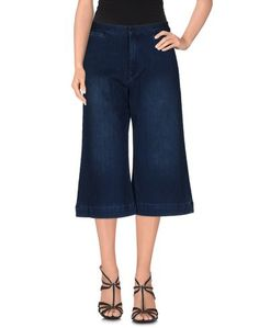 Джинсовые брюки-капри Acynetic