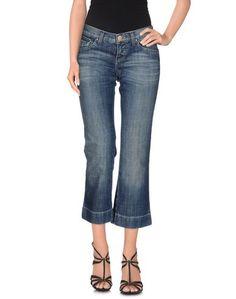 Джинсовые брюки-капри Paola Frani J