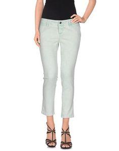 Джинсовые брюки-капри Acciaio
