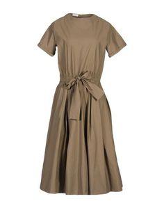 Платье длиной 3/4 Brunello Cucinelli