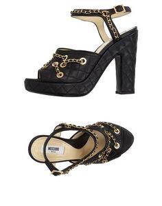 Сандалии Moschino Couture