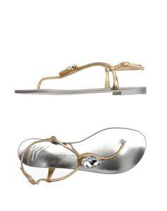 Вьетнамки Giuseppe Zanotti Design
