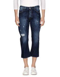 Джинсовые брюки-капри Labelroute