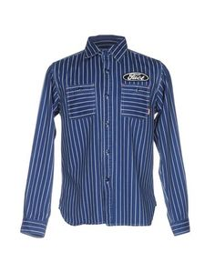 Джинсовая рубашка Fuct Ssdd