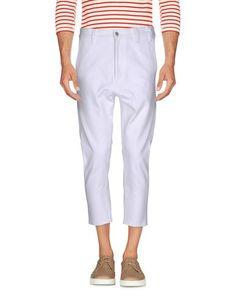 Джинсовые брюки-капри Jil Sander