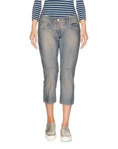 Джинсовые брюки-капри Elisabetta Franchi for Celyn b.