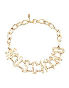 Ожерелье Moschino Couture