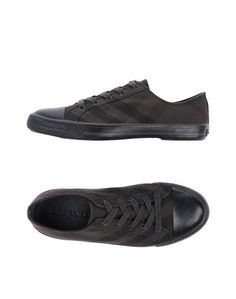 Низкие кеды и кроссовки Burberry