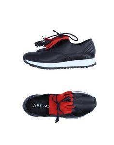 Низкие кеды и кроссовки Apepazza