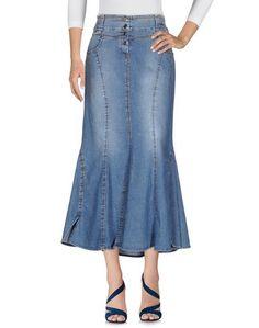 Джинсовая юбка Angelo Marani