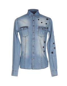 Джинсовая рубашка Philipp Plein