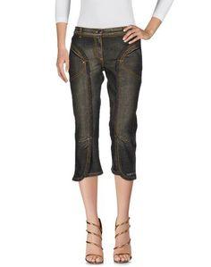 Джинсовые брюки-капри Angelo Marani