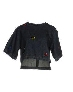 Джинсовая рубашка Steve J & Yoni P