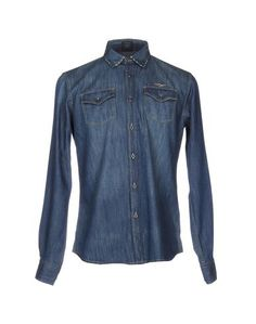 Джинсовая рубашка Aeronautica Militare