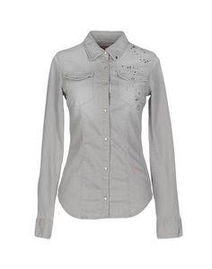 Джинсовая рубашка 2 W2 M