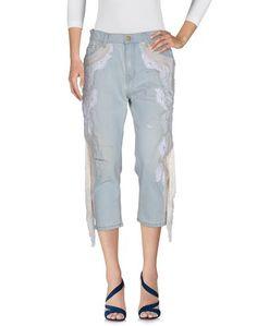 Джинсовые брюки-капри Amen.