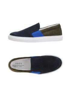 Низкие кеды и кроссовки Grey Daniele Alessandrini