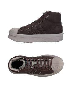 Высокие кеды и кроссовки Rick Owens x Adidas