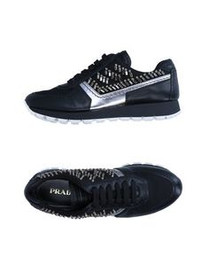 Низкие кеды и кроссовки Prada