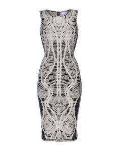 Платье до колена HervÉ LÉger BY MAX Azria