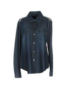 Джинсовая рубашка Blumarine