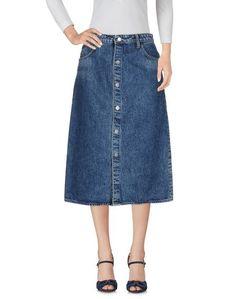 Джинсовая юбка Helmut Lang