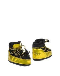 Полусапоги и высокие ботинки Moon Boot & Jimmy Choo