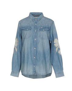 Джинсовая рубашка Wrangler