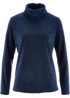 Флисовая водолазка (темно-синий) Bonprix
