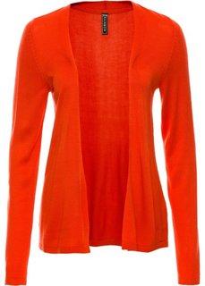Летний кардиган (кроваво-оранжевый) Bonprix