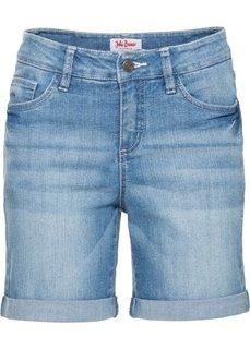 Джинсовые шорты-стретч, cредний рост (N) (голубой) Bonprix