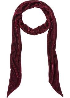 Длинный бархатный платок (темно-красный) Bonprix