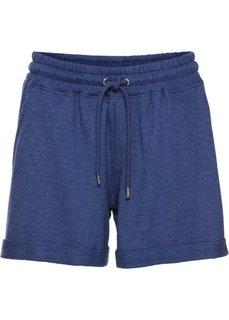 Трикотажные шорты (темно-синий меланж) Bonprix