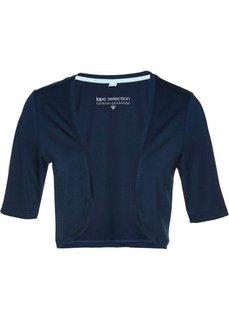 Трикотажное болеро (темно-синий) Bonprix