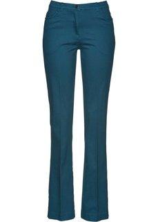 Расклешенные стрейтчевые брюки (серо-синий) Bonprix