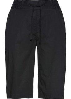 Легкие шорты (черный) Bonprix