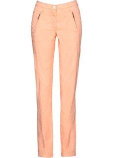 Эластичные брюки Chino (персиковый) Bonprix