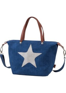 Сумка Звезда (синий) Bonprix