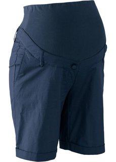 Для будущих мам: шорты (темно-синий) Bonprix