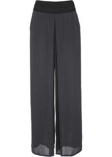 Широкие брюки (серый) Bonprix