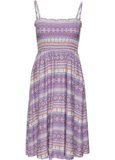 Трикотажное платье (пастельный этнический рисунок) Bonprix