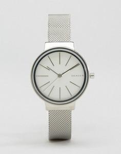 Серебристые часы Skagen SKW2478 - Серебряный
