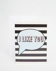Открытка Jolly Awesome I Like You - Мульти